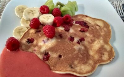Pancake zborówkami