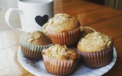 Muffiny pełnoziarniste zowocami