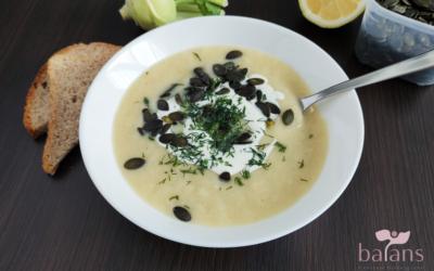 Zupa krem zkalarepy